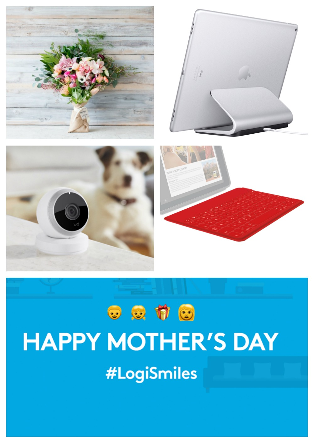 "Logitech ""Make Mom Smile"" for Mother's Day Giveaway"