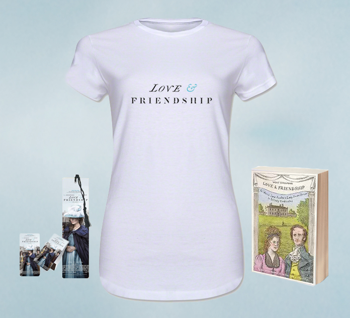 Love & Friendship Movie prize Pack