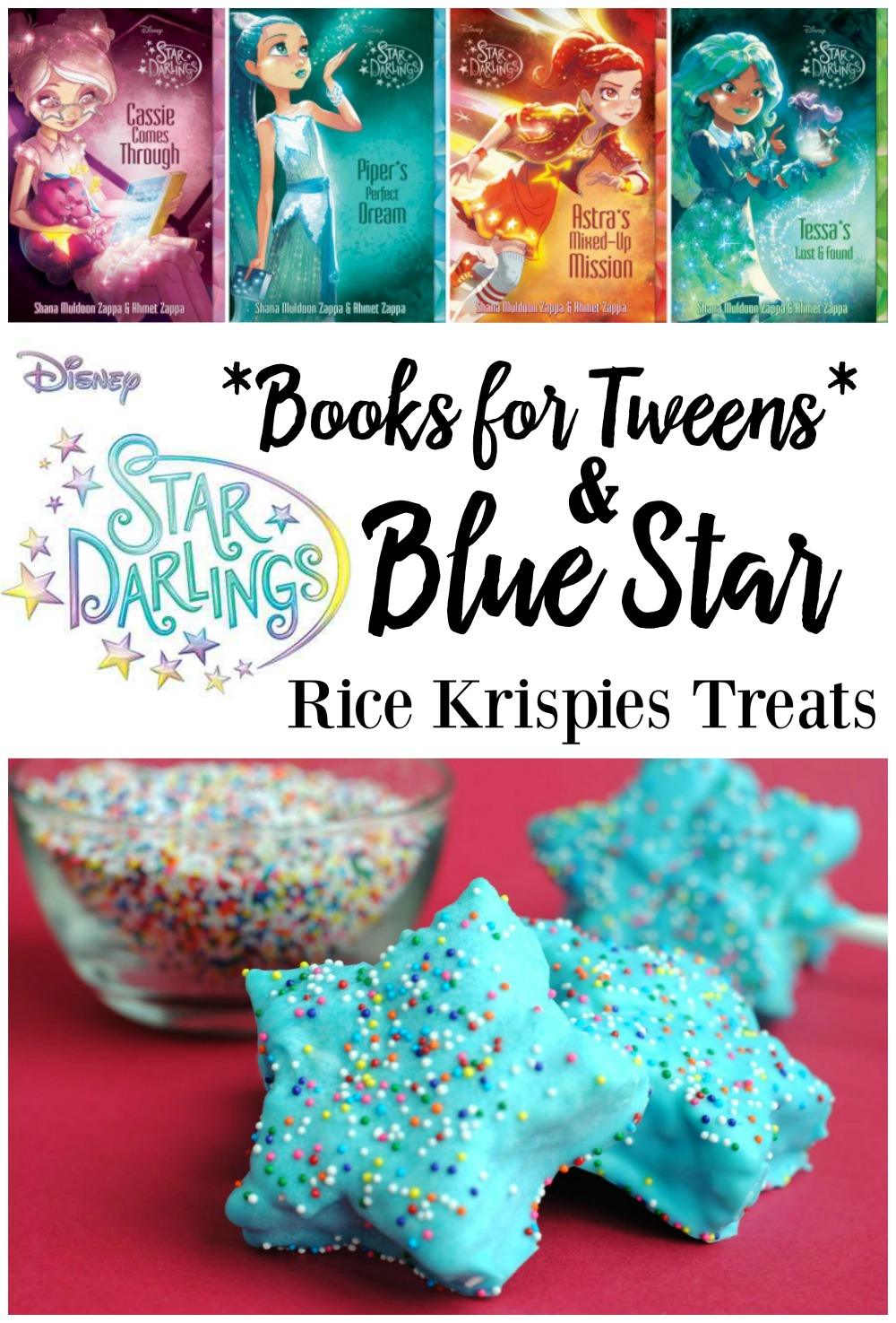 Disney Star Darlings Tween Book Series + Star Rice Krispies Treats Recipe