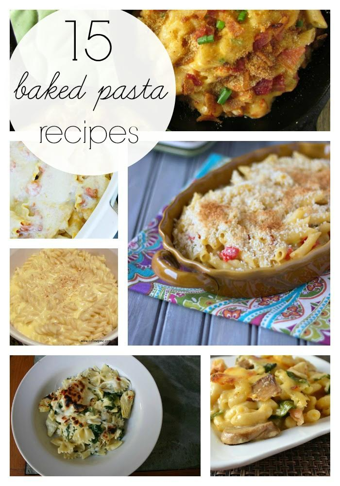 15 Baked Pasta Recipes Roundup