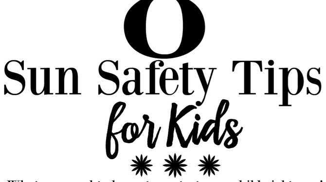 8 Sun Safety Tips for Kids
