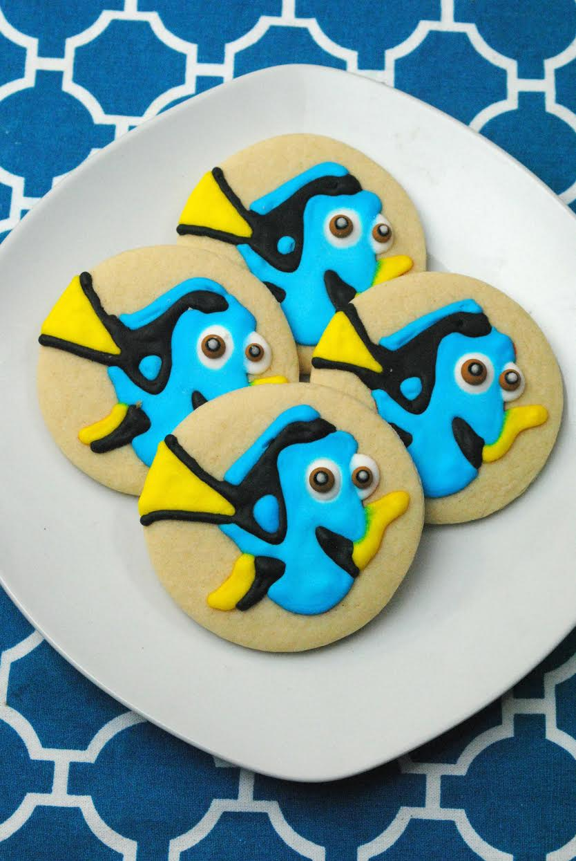 Disney Pixar Finding Dory Sugar Cookies Recipe