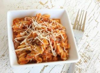 Easy One Pot Chicken & Tomato Pasta 1