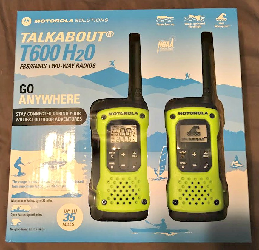 Motorola T600 Talkabout Waterproof Radio