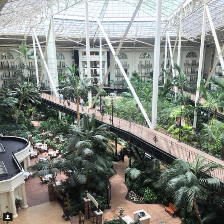 Adventures by Disney Long Nashville Weekend in Pictures Gaylord Opryland Hotel