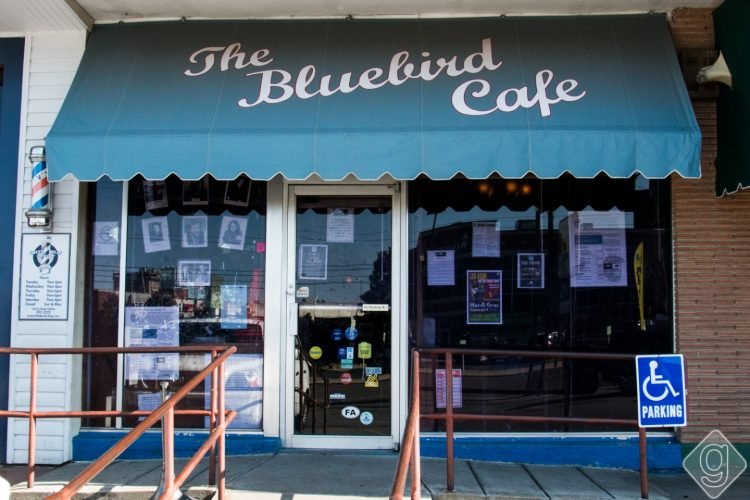 The Bluebird Cafe in Nashville Tennessee