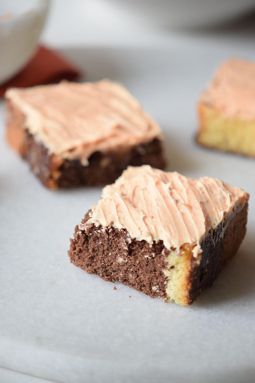 Orange Creamsicle Cake Bars Recipe