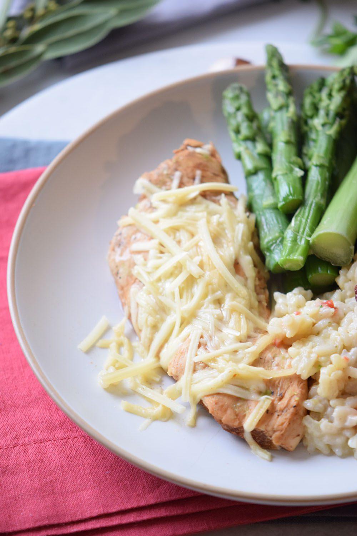 Creamy Baked Asiago Chicken Recipe