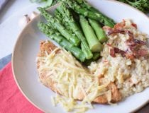 Creamy Baked Asiago Chicken
