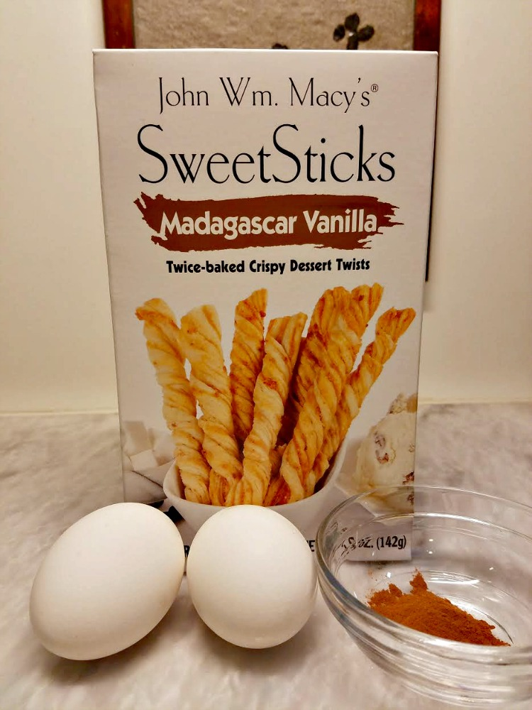 Fried Ice Cream Recipe with John Wm. Macy's Madagascar Vanilla SweetSticks