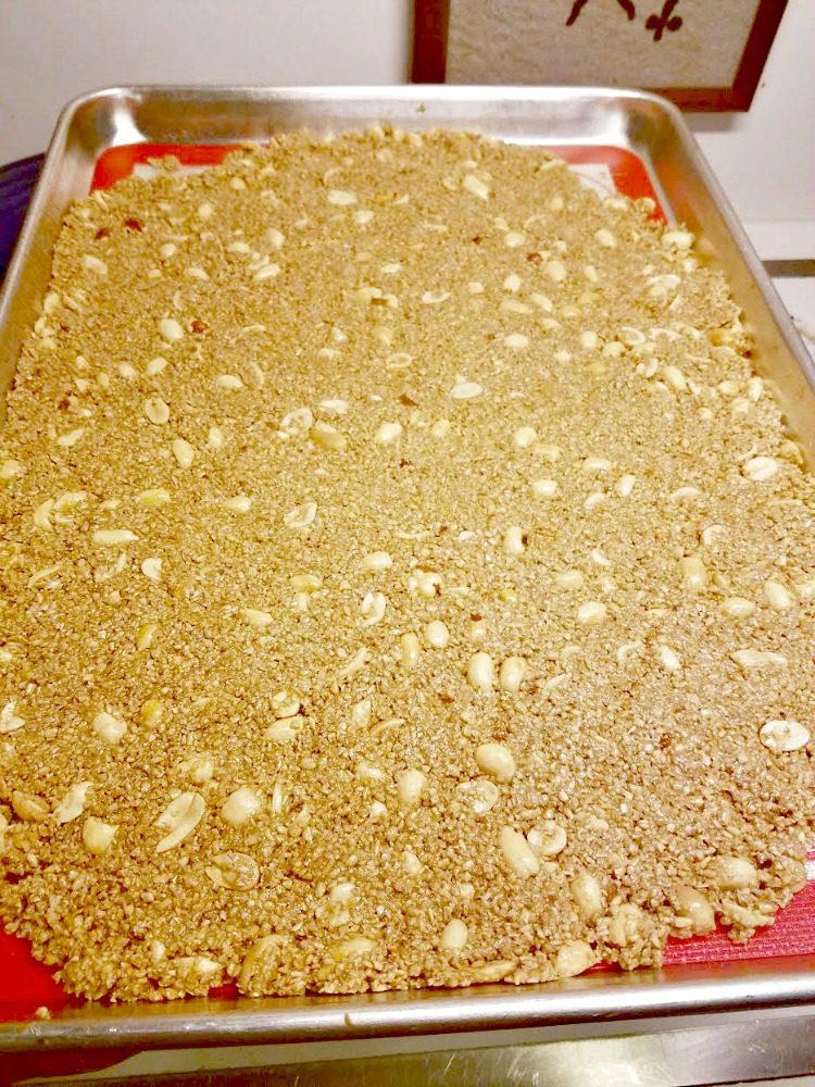 Maple Cinnamon Peanut Granola Recipe with Jif