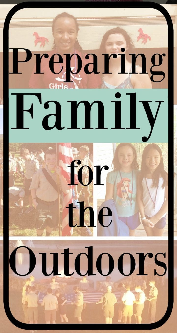 Preparing Family for the Outdoors