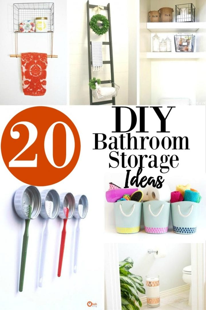 20 diy bathroom storage ideas design decor divine lifestyle