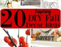 20 Inspiring DIY Fall Decor Projects