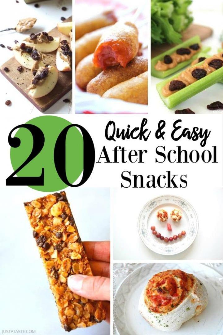 20 quick easy after school snacks divine lifestyle for Easy after school snacks for kids to make