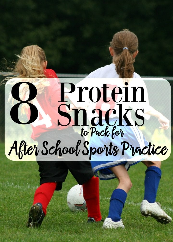 8 Protein Snacks to Pack for After School Sports Practice