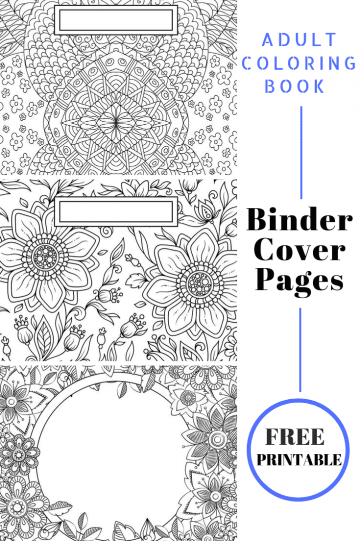 back to school binder cover adult coloring pages binder cover adult coloring pages