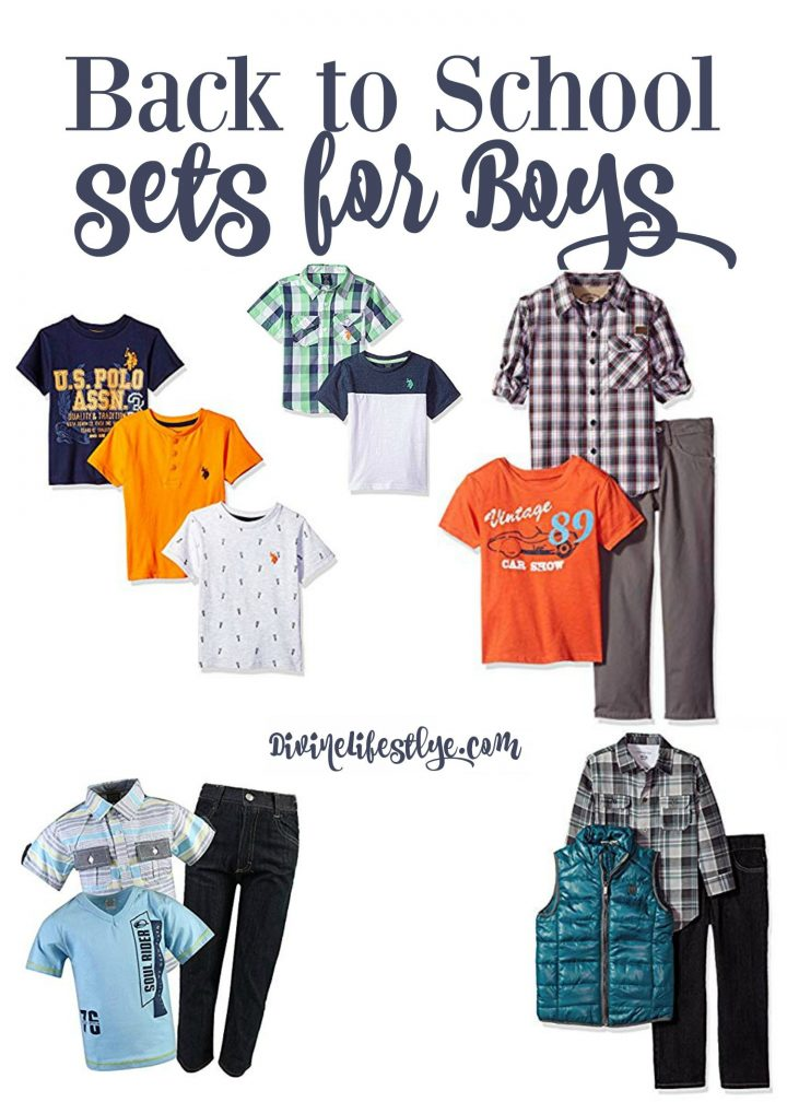 Back to School Sets for Boys