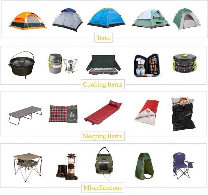 20 Camping Essentials Under 50