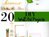 DIY Elegant Wall Art