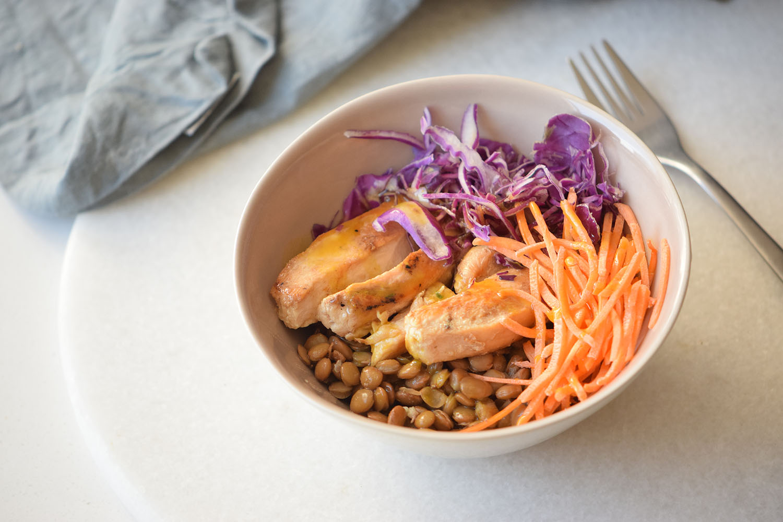 Lentil Bowl Recipe