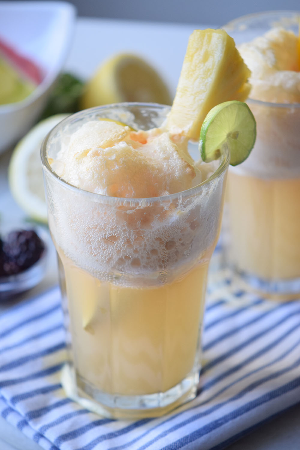 Tropical Ice Cream Float