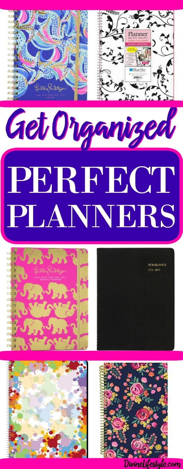 Get Organized Perfect Planners