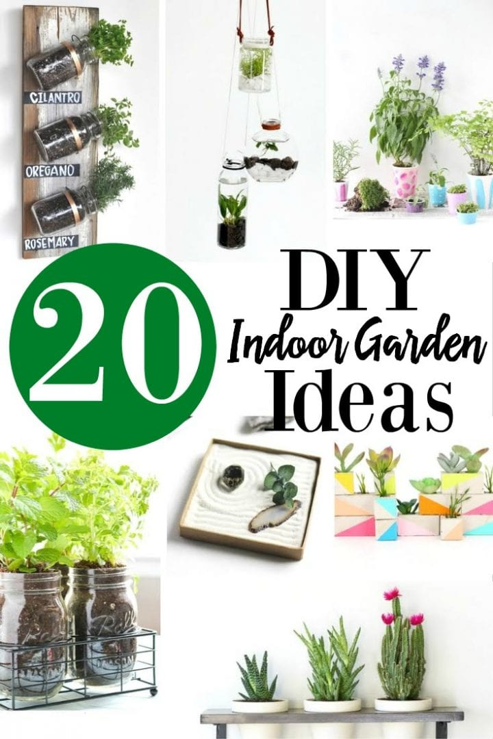 20 DIY Indoor Garden Ideas