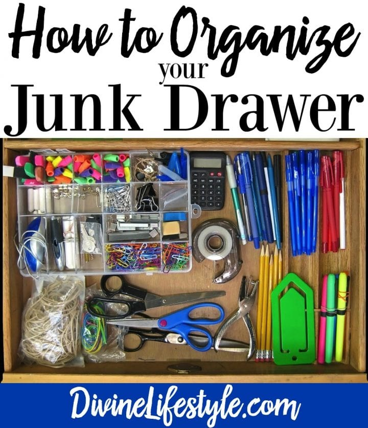 Organization Ideas For Junk Drawers: How To Organize Your Junk Drawer Divine Lifestyle