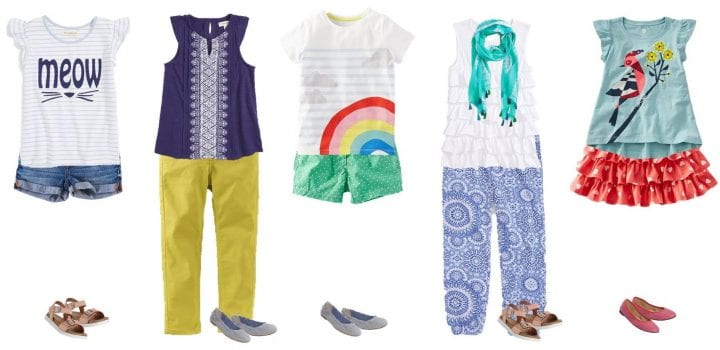 Kids' Summer Mix & Match Styles from Nordstrom Girls 2