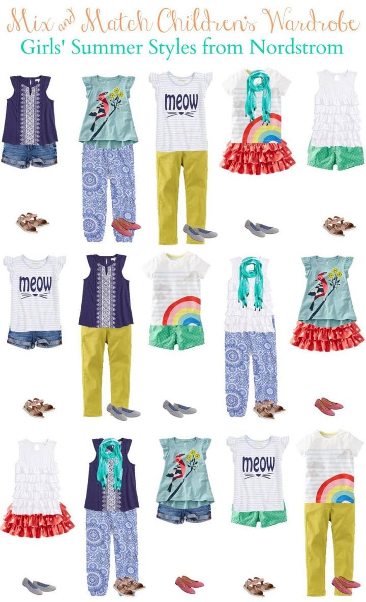 Kids' Summer Mix & Match Styles from Nordstrom Girls