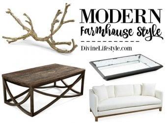 Modern Farmhouse Style Living Room