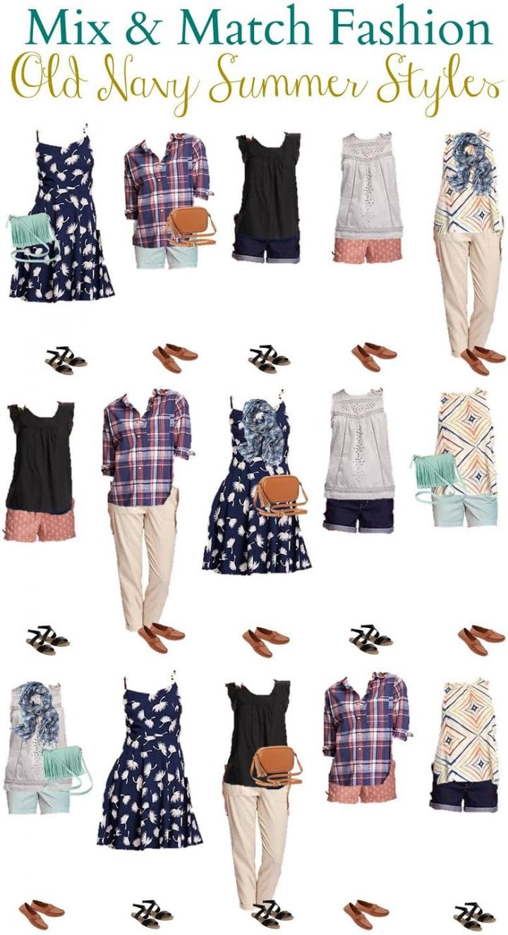 Old Navy Mix and Match Summer Style