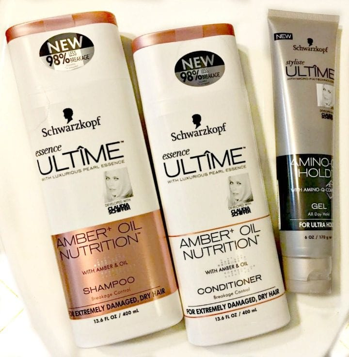 Schwartzkopf essence Ultime Amber+ Oil Nutrition Shampoo and Conditioner available at @RiteAid