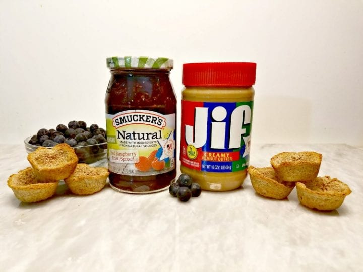 Usa Inspired Peanut Butter And Jelly Cups Recipe Divine