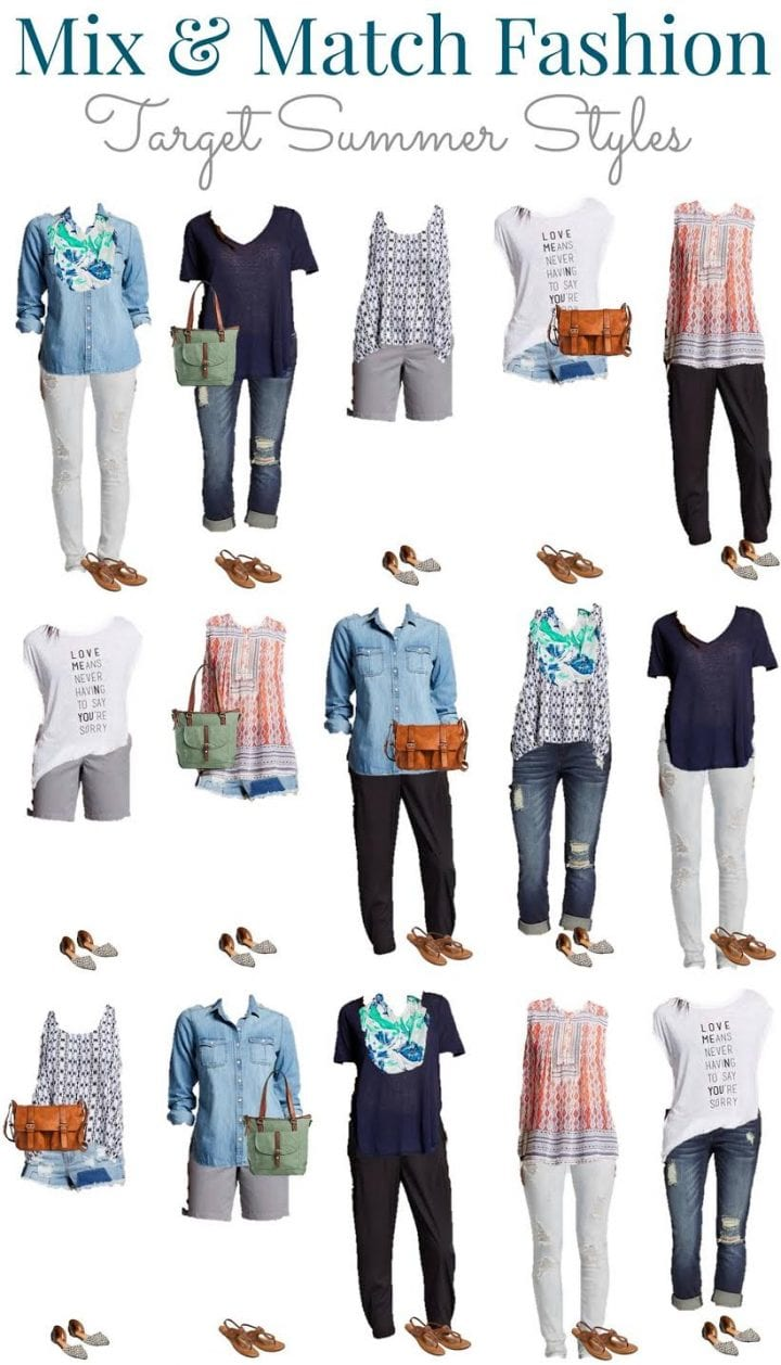 Target Style Mix And Match Summer Fall Fashion Sale Divine Lifestyle