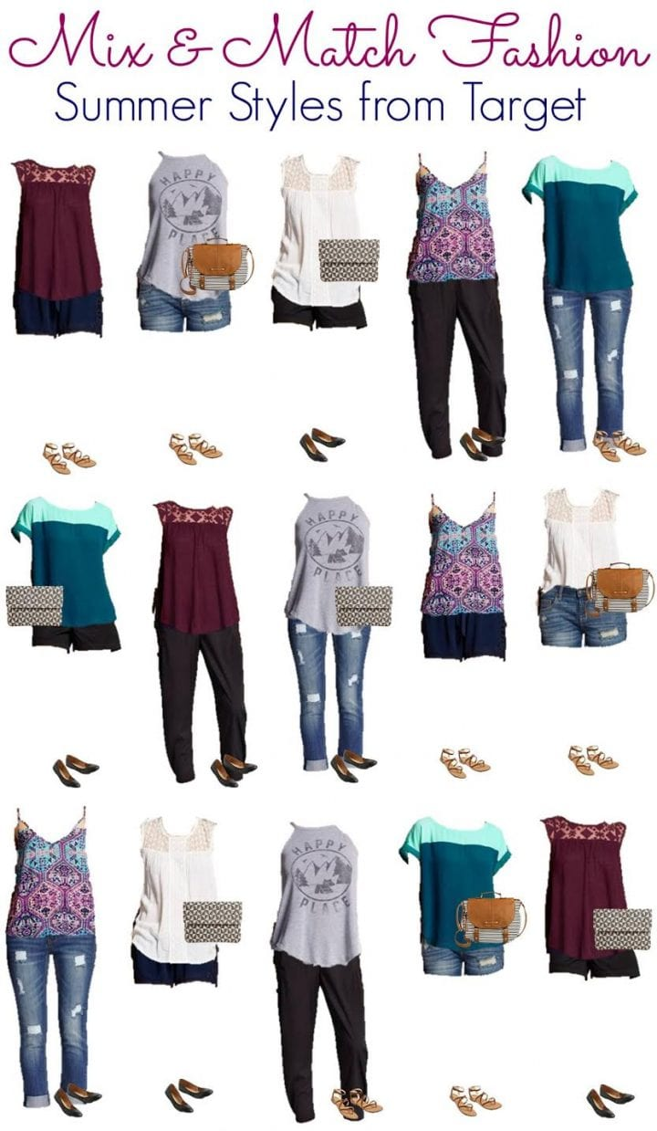 Mix and Match Fashion Clearance at Target