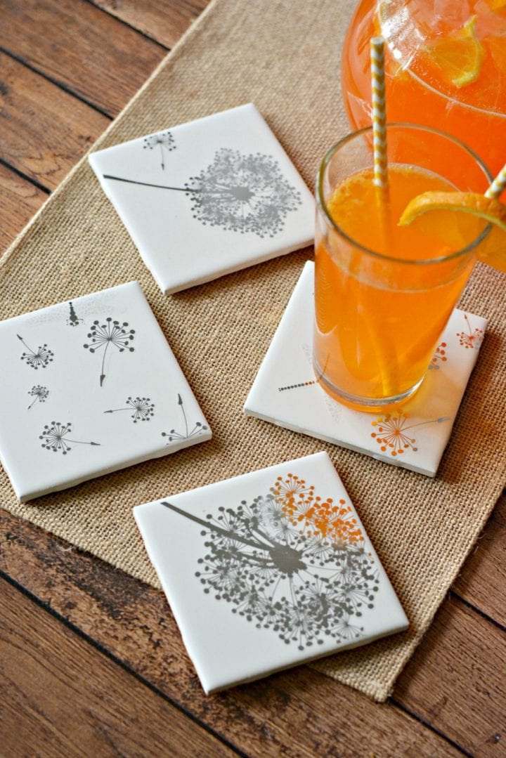 craft ideas for ladies easy diy tile coasters gift in craft 3863