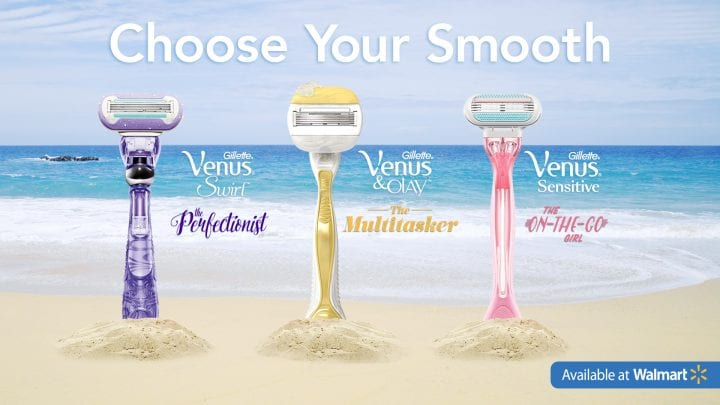 I choose smooth legs with Venus #ChooseYourSmooth