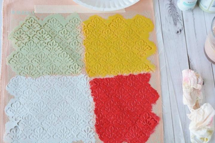 DIY Embroidery Hoop Gallery Wall #WaverlyInspirations #InAWaverlyWorld