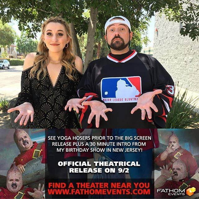 yoga hosers from kevin smith in theaters sept 2 divine