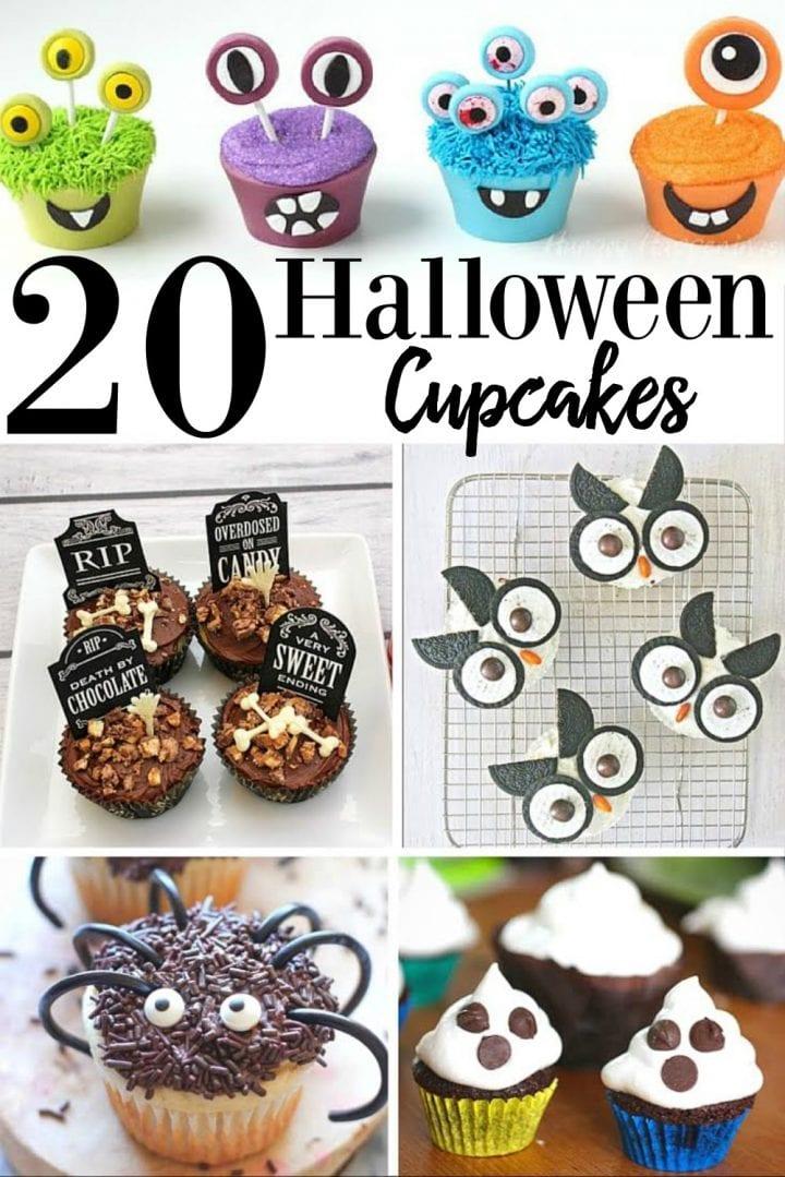 20 Halloween Cupcakes