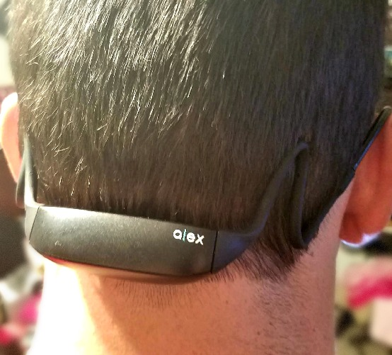 Prevent Text Neck with ALEX Wearable Posture Tracker and Coach