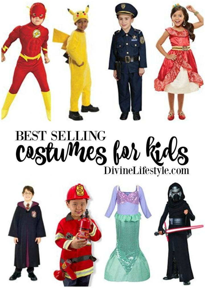 10 Best Selling Costumes for Kids on Amazon