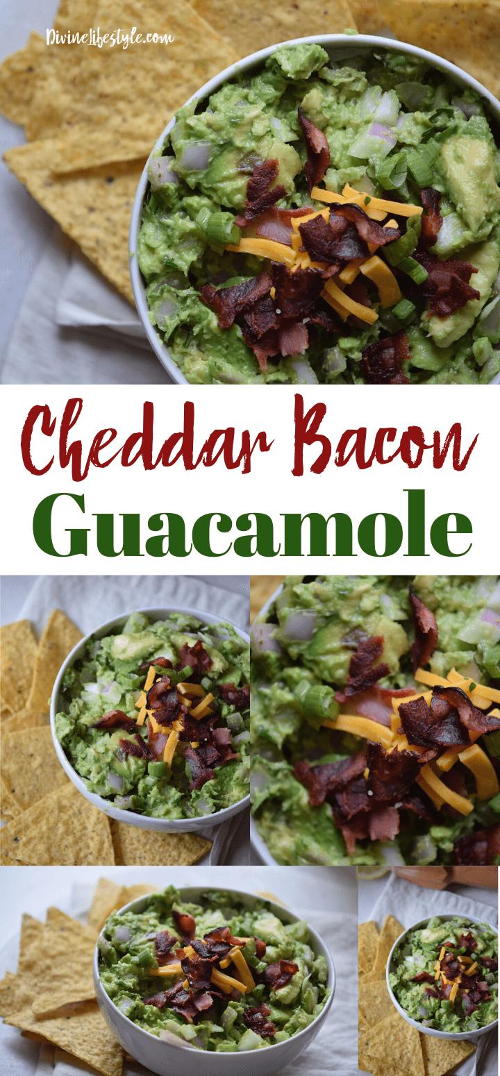 Cheddar Bacon Guacamole Recipe