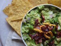 Bacon Cheese Guacamole