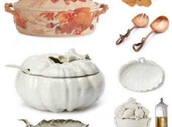 Must Have Fall Entertaining Pieces