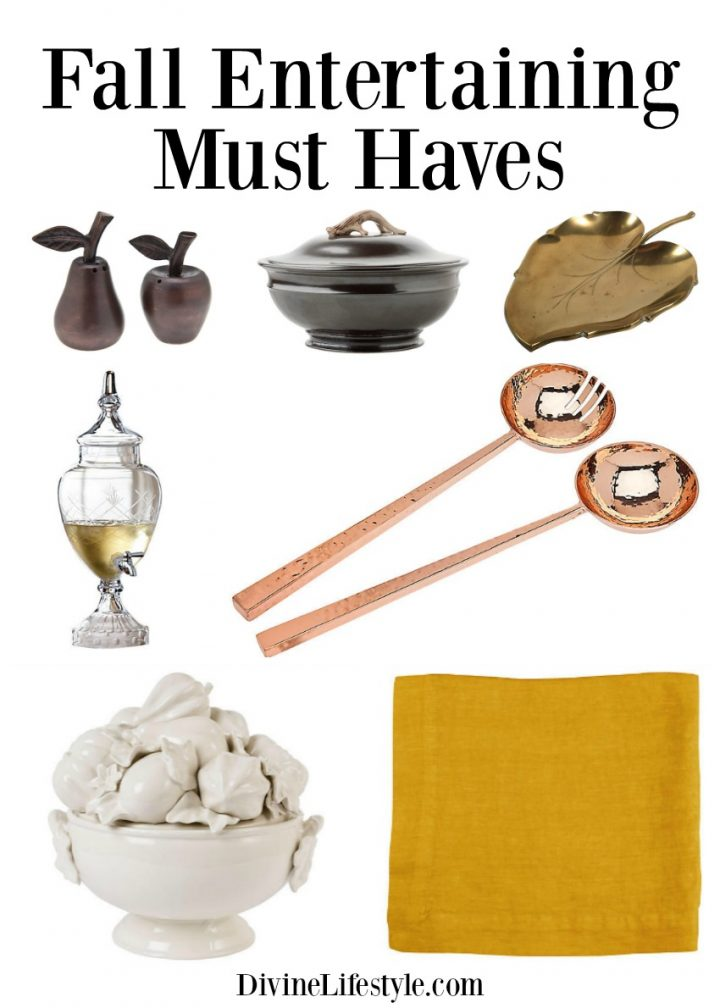Fall Entertaining Must Haves