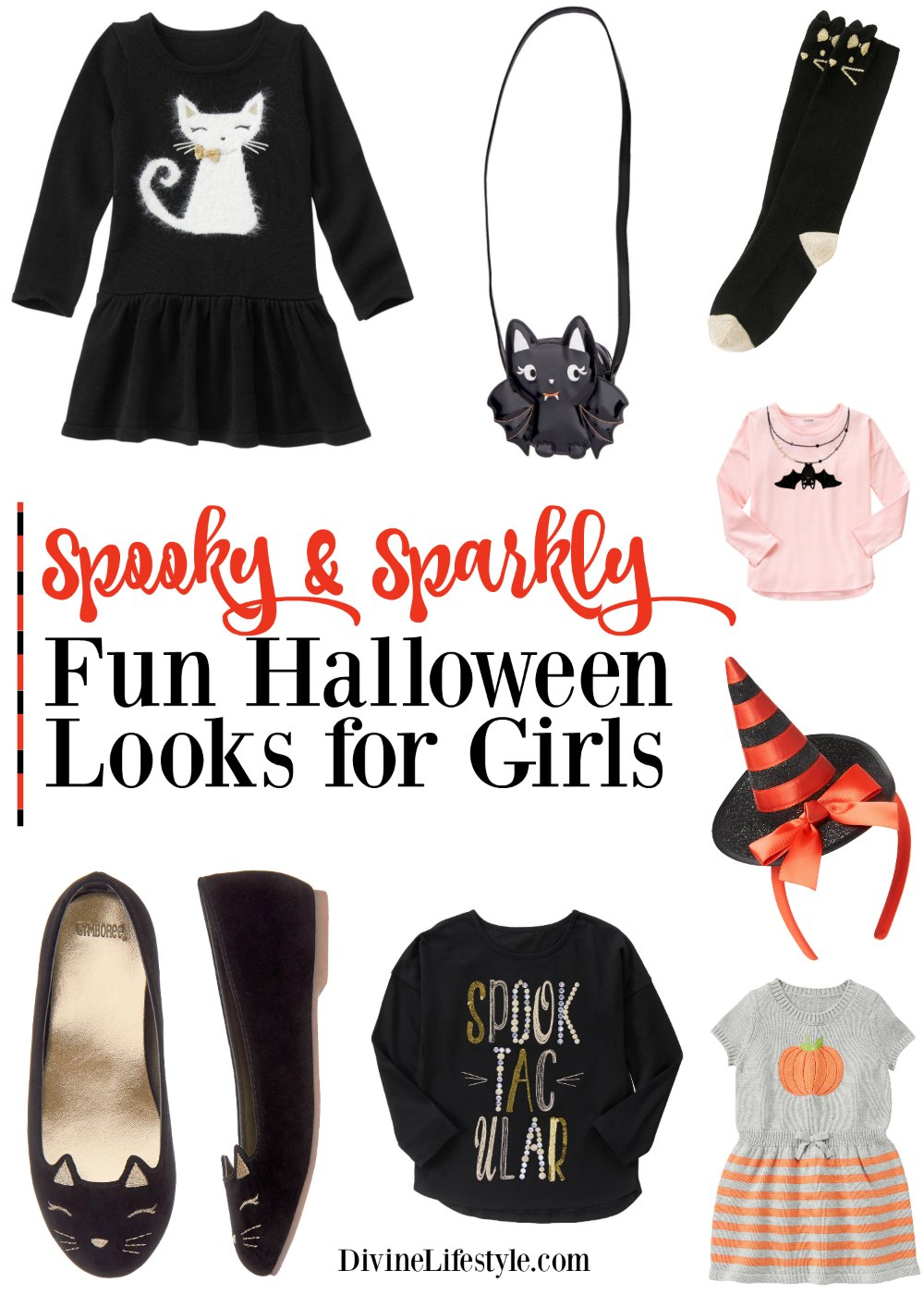 Spooky & Sparkly Halloween Looks for Girls from Gymboree