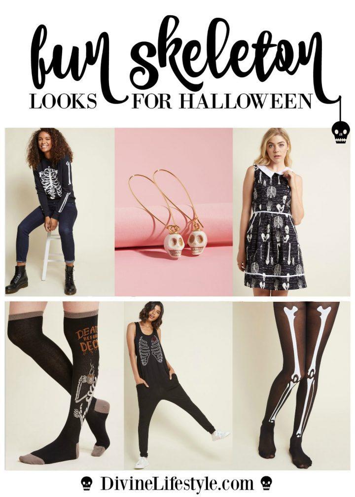 Fun Skeleton Halloween Fashion for Women